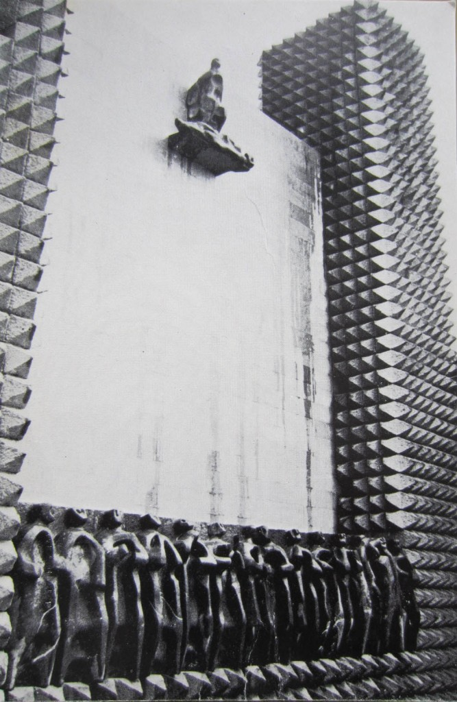 santuario aranzazu fachada principal oteiza