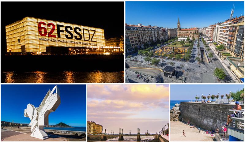 Reportaje fotográfico para el Restaurante Aitzgorri de San Sebastián Donostia, con 10 fotografías del barrio de Gros.